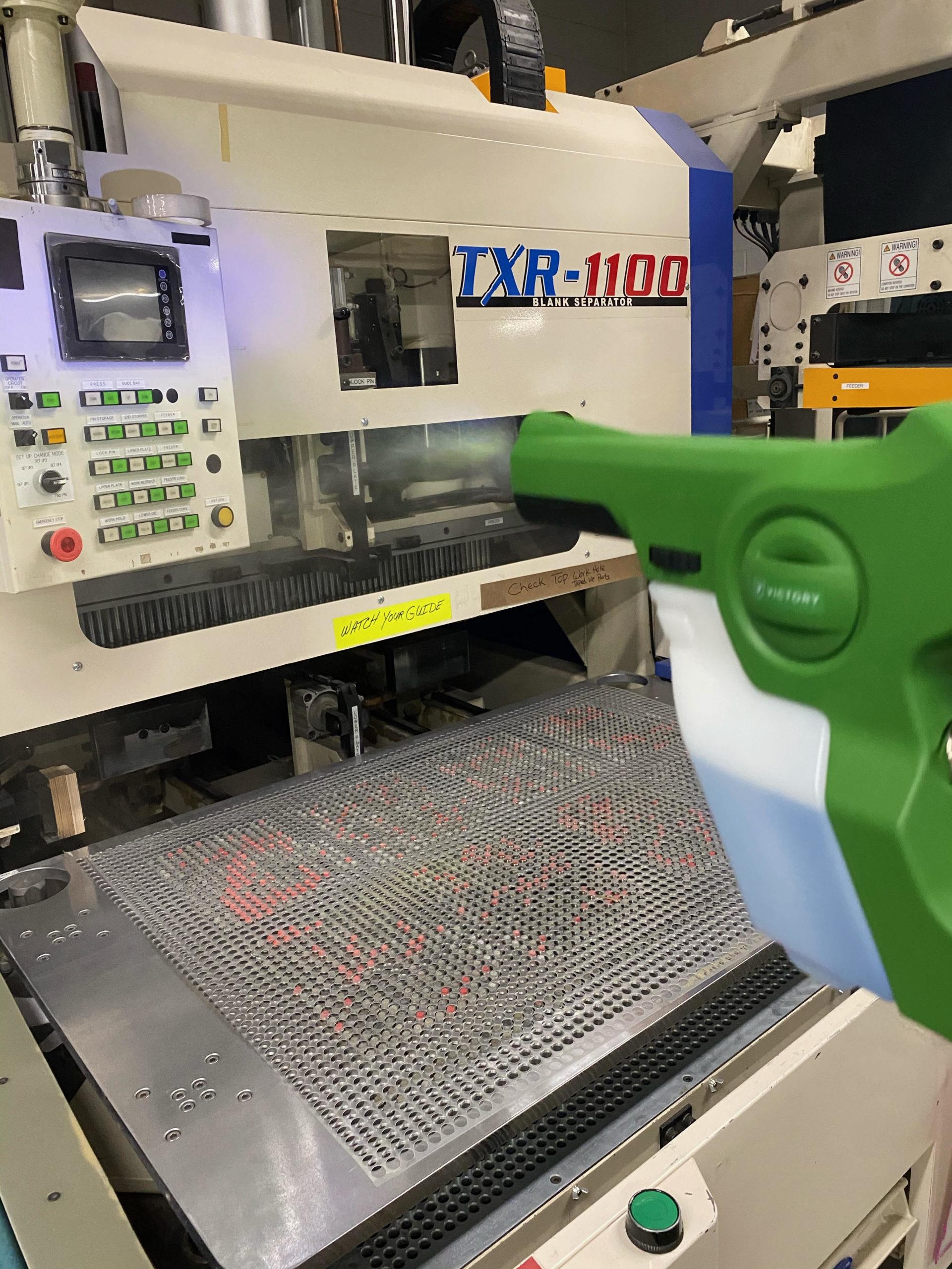 Team Clean - Minneapolis MN - Minneapolis Electrostatic Spray Services - Factory