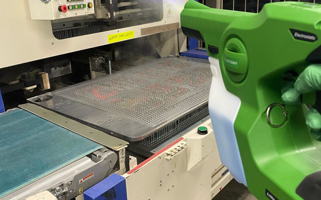 Team Clean - Minneapolis MN - Minneapolis Electrostatic Spray Services - Industrial