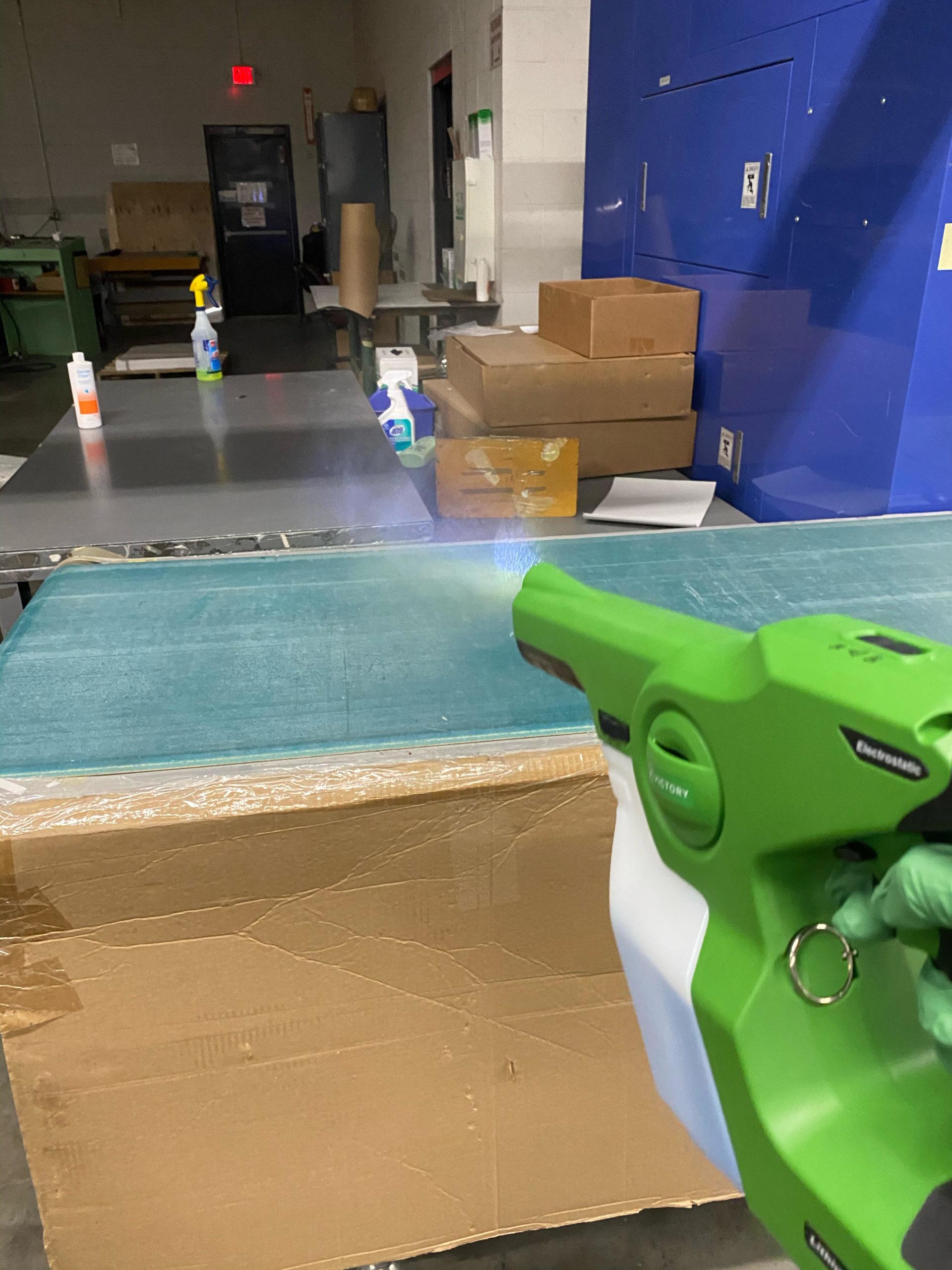 Team Clean - Minneapolis MN - Minneapolis Electrostatic Spray Services - Warehouse